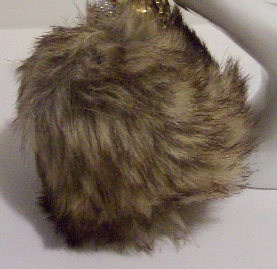 Pom Pom fur key chain
