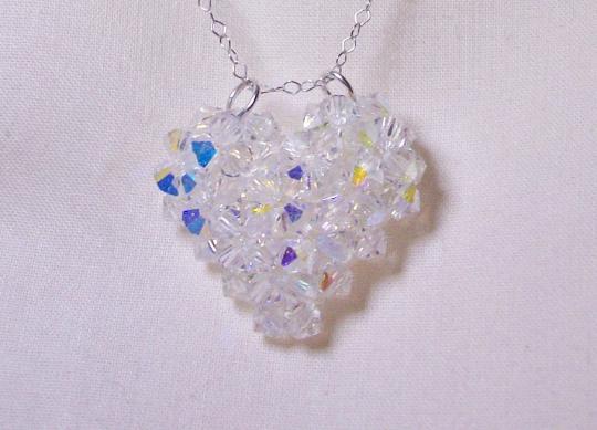 Crystal woven bracelet