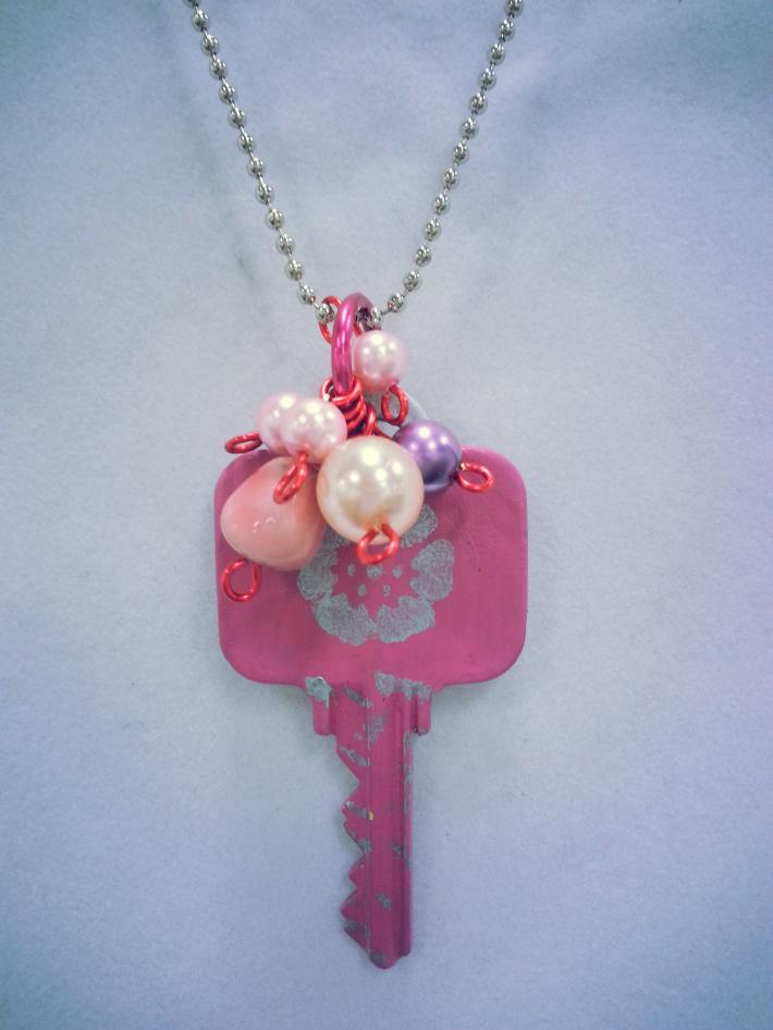 Whimsical Recycled Key