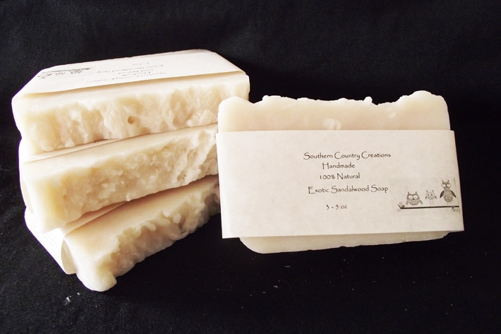 Exotic Sandalwood Soap