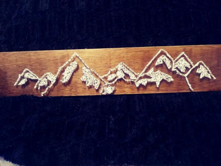 String Art Mountains  14