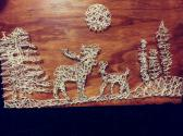 Deer in theWoods String Art 7