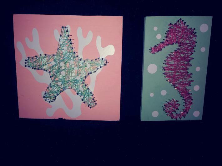 Starfish and Seahorse 78