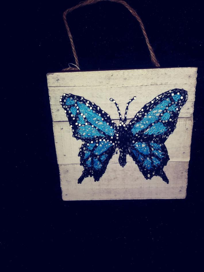Butterfly Blue 67