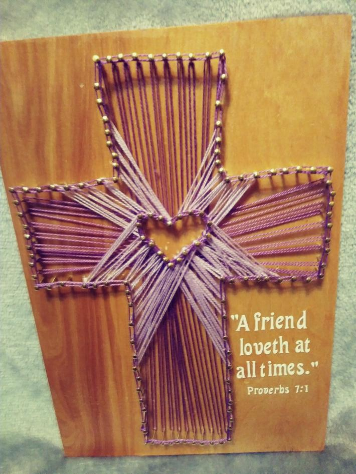 A friends cross