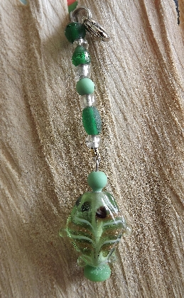 Little Green Fishie Accessory Charm