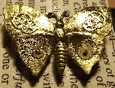 SteamPunk Inspired ButterFly Brooch