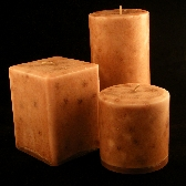 Cedar 9 inch Pillar Candle