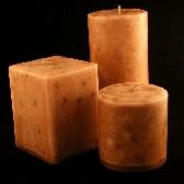 Cedar 3 inch Round Pillar Candle