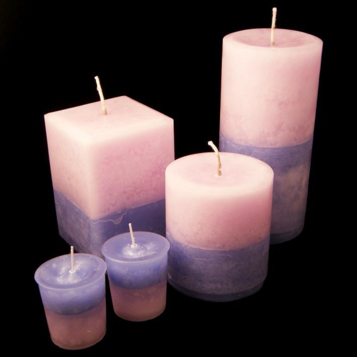 Lilac Votive Candle