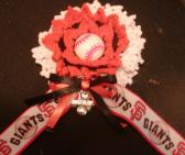 Team Spirit Flower Corsage  BASEBALL