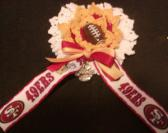 Team Spirit Flower Corsage  FOOTBALL
