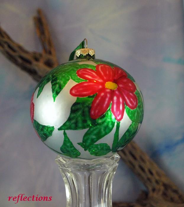 Hummingbird Ornament OOAK Hand Painted Artistic Ornament go0136