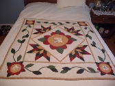 Lisas Star Wall hanging Quilt Lap Quilt