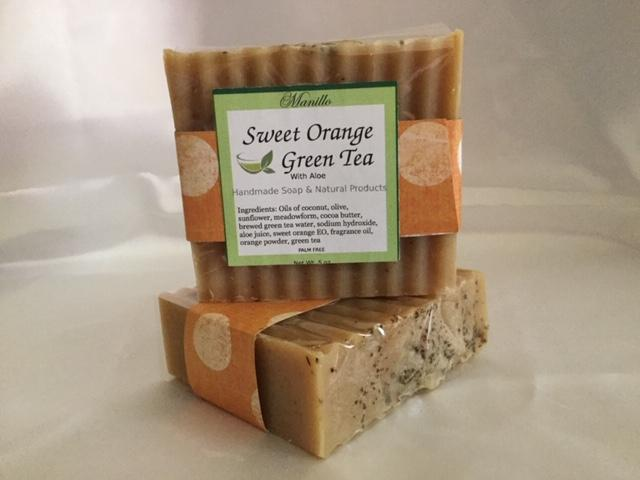 Sweet Orange Green Tea