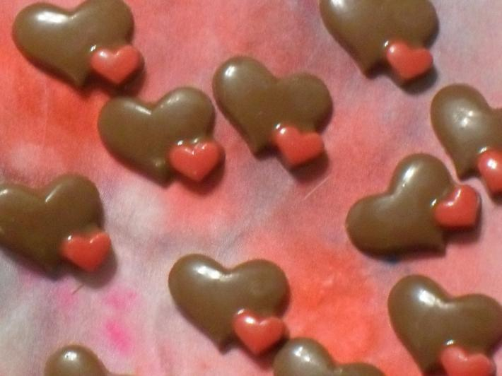 Chcolate Hearts in A Bag