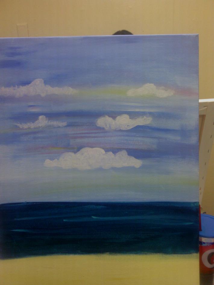 The Beach Acrylic on Canvas