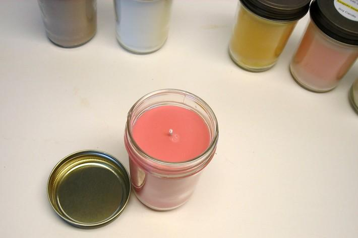 Scented Soy Candles Choose Two Jars