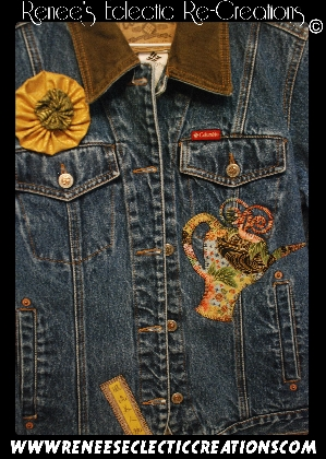 Colombia Blue Jean Oriental Jacket
