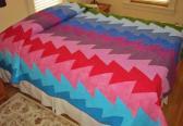 ZigZag Rainbow Quilt