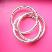 Three band Russian Wedding ring
