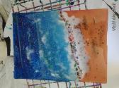 Acrylic pour