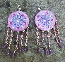 Glamour Queen Crystal Gypsy Boho Statement Earrings