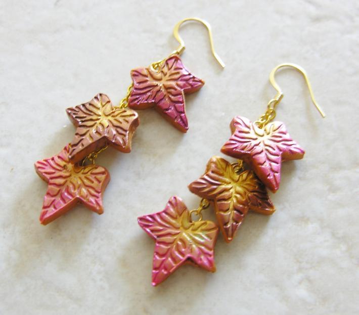 Autumn Leaf Earrings