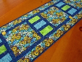 Mixed Floral Quilted Table Runner