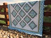 Handmade Quilt Floral