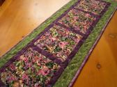 Natures Flowers Quilted Table Runner