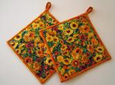 Pot Holders Floral Frenzy