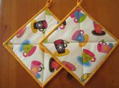 Pot Holders Tea and Coffee Cups