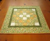 Floral Quilted Table Top