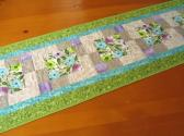 Spring Flowers Patchwork Table Runner
