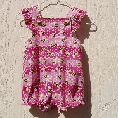Happy Bees Romper Size 24 Months