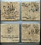 Winnie the Pooh Quote Wall Art Tumbled Tile Coaster Natural Stone Piglet Smallest Things