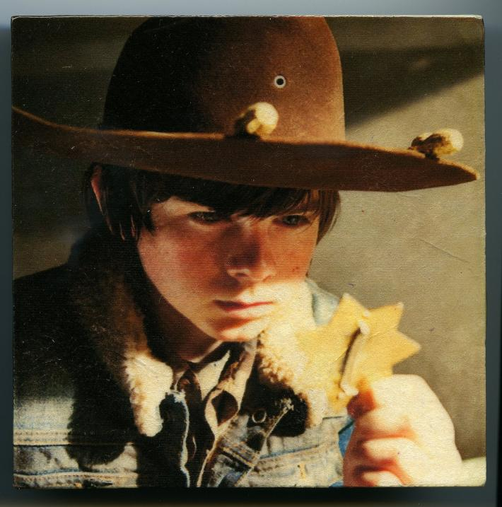 The Walking Dead Carl Grimes with Deputy Badge Zombies
