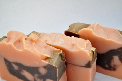 Strawberry Truffle Vegan Soap