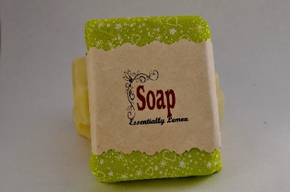 Essentially Lemon with Poppy Seeds Vegan Soap