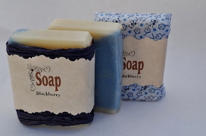 Blackberry Vegan Soap