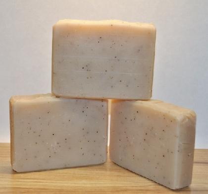 Coffee Mocha Vegan Handmade Soap with Coffee Grounds