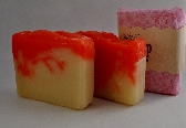 Peach Handmade Vegan Soap