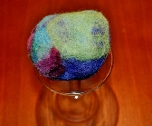 Celestial Waters Felted Soap Ball