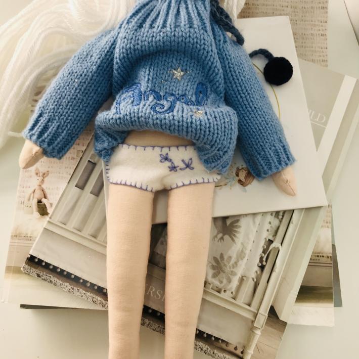 Crystal handmade doll