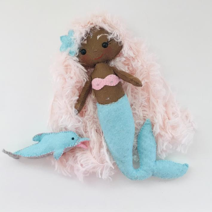 Mermaid Doll Sirena