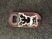 Pink Halloween Bottle Opener