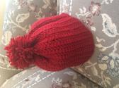 Red Hat with Pom Pom