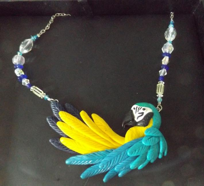Macaw Necklace