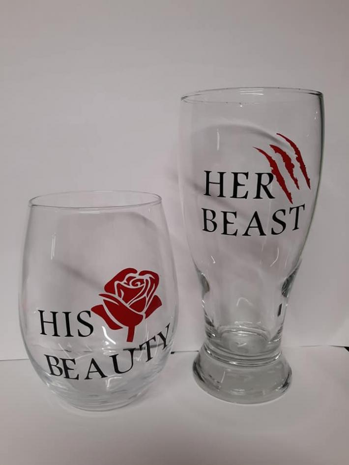 his and her cups